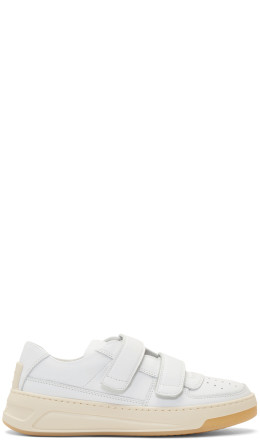 Acne Studios - White Steffey Sneakers