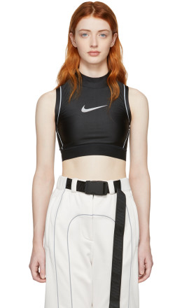 NikeLab - Black Ambush Edition NRG Crop Tank Top