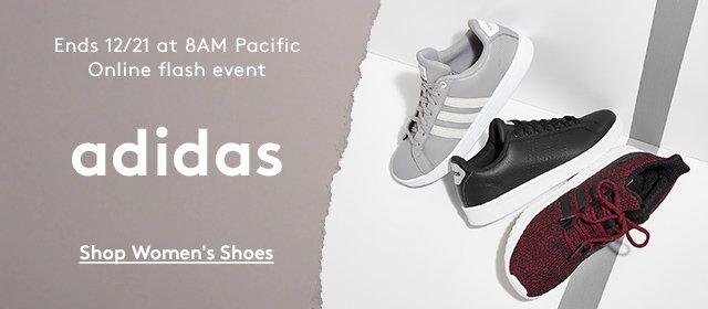 Ends 12/21 at 8AM Pacific | Online flash event | adidas | Shop Women's Shoes