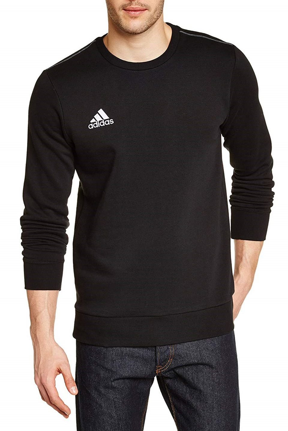 Adidas Core 15 Sweatshirt in Black