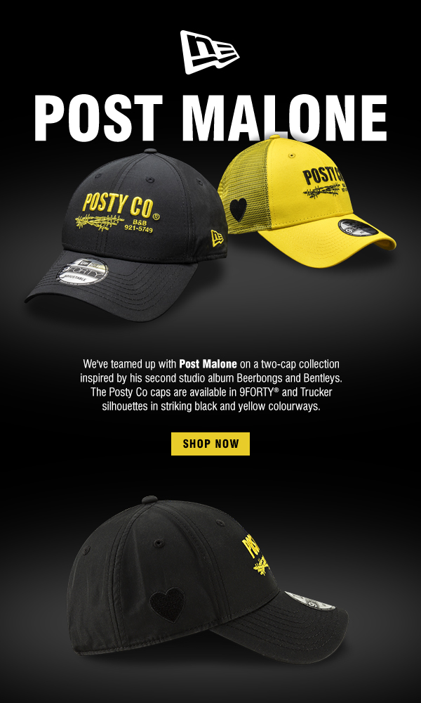 a082fd0315fc6 New Era Cap  Two Caps Exclusively Designed By Post Malone