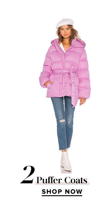 Puffer Coats. Shop Now.