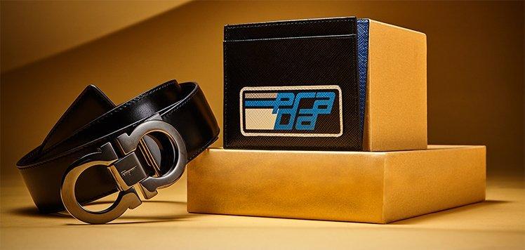 Designer Leather Belts & More Extras