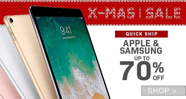 PRE-BOXING DAY SALE: APPLE & SAMSUNG