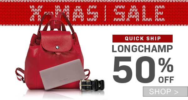 PRE-BOXING DAY SALE: LONGCHAMP FOR MEN & WOMEN