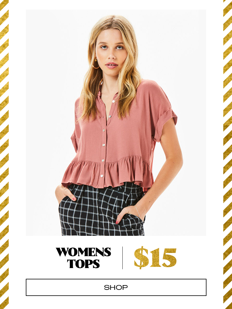 Womens Tops $15