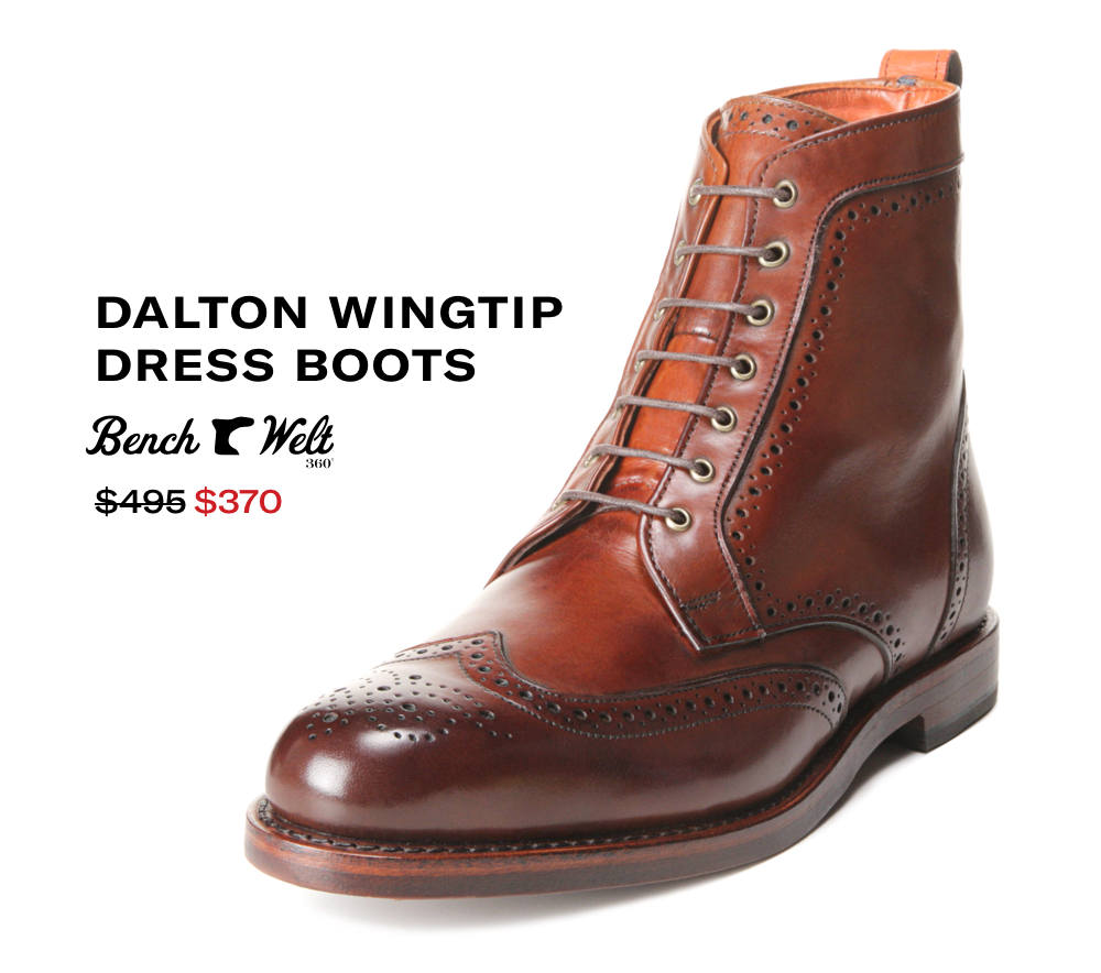 Shop Dalton Wingtip Boots