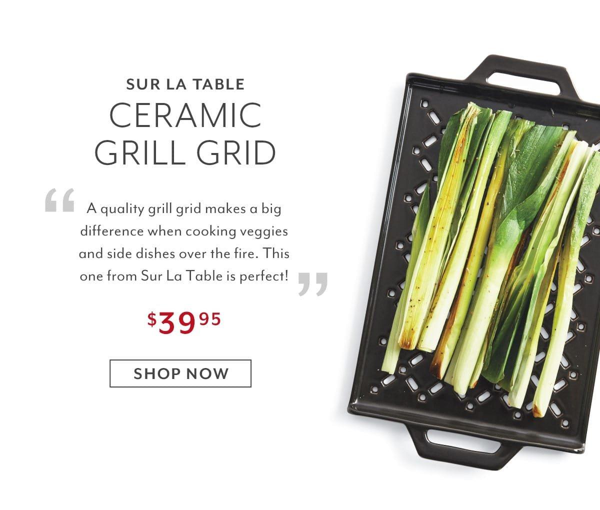 Ceramic Grill Grid