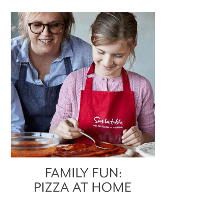 Family Fun: Pizza at Home
