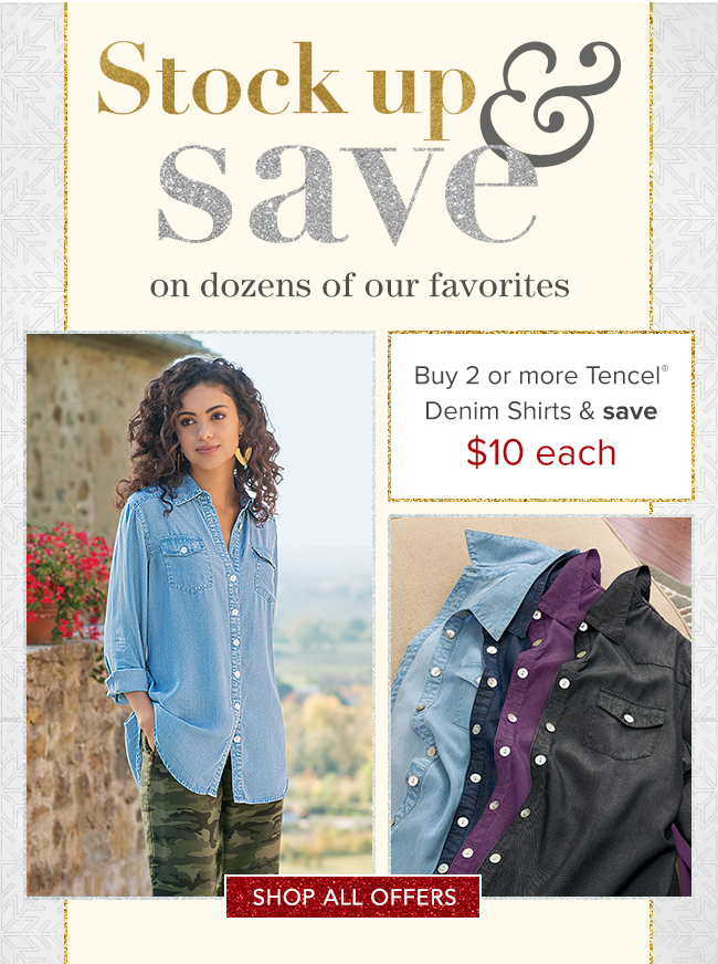 3124787096267 Disclaimer: Multi-pricing item discounts available when purchasing 2 or  more select items on www.softsurroundings.com through 12/22/18 only.