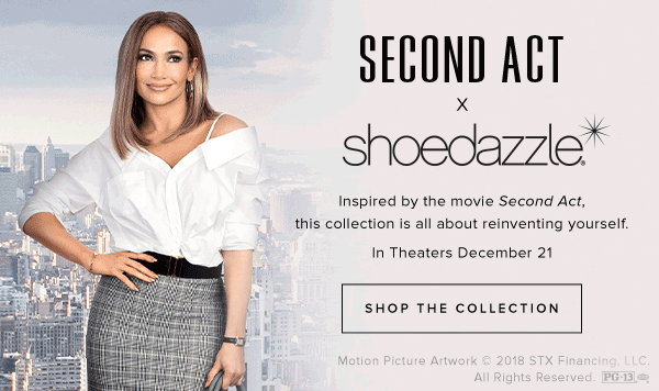 SECOND ACT X SHOEDAZZLE