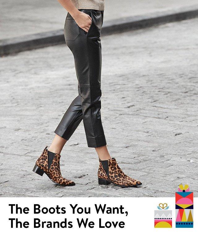 Shop women's boots by brand, including Marc Fisher LTD, Steve Madden, Sam Edelman, UGG, Blondo, and SOREL.