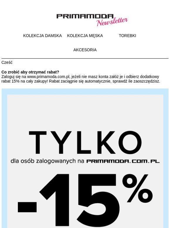 ed5ac408c7a71 Primamoda PL: 15% na wszystkie produkty Primamoda po zalogowaniu się! |  Milled