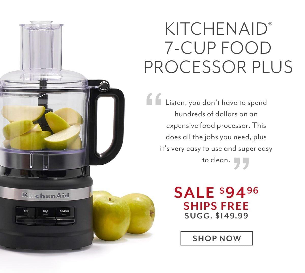 KitchenAid 7 Cup Food Processor Plus