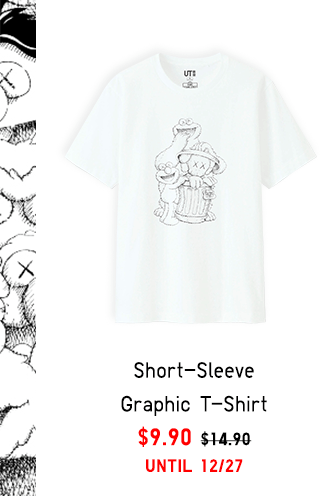 SHORT-SLEEVE GRAPHIC T-SHIRT $9.90