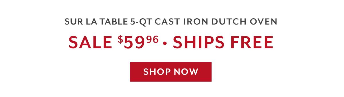 Gift Du Jour - SLT Cast Iron Dutch Oven
