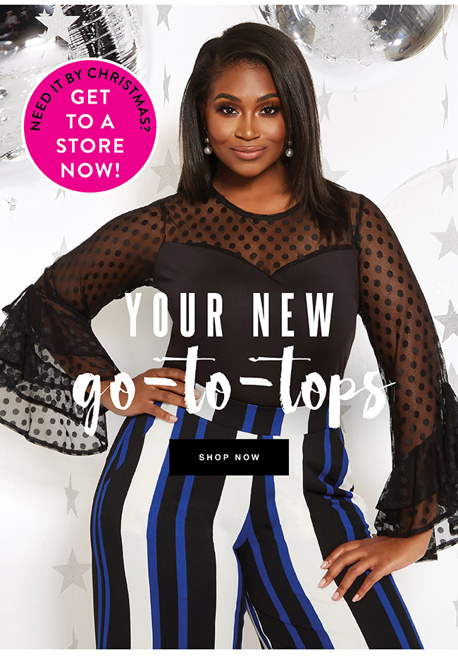 Your New Go to tops - Shop Now