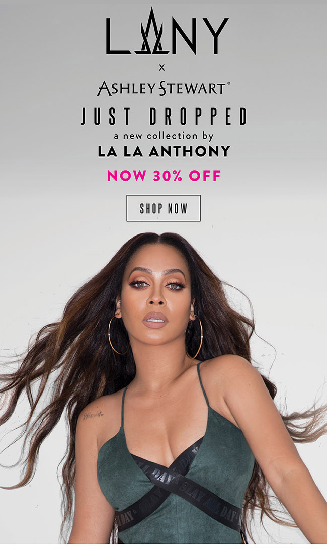 LALA Anthony new collection.