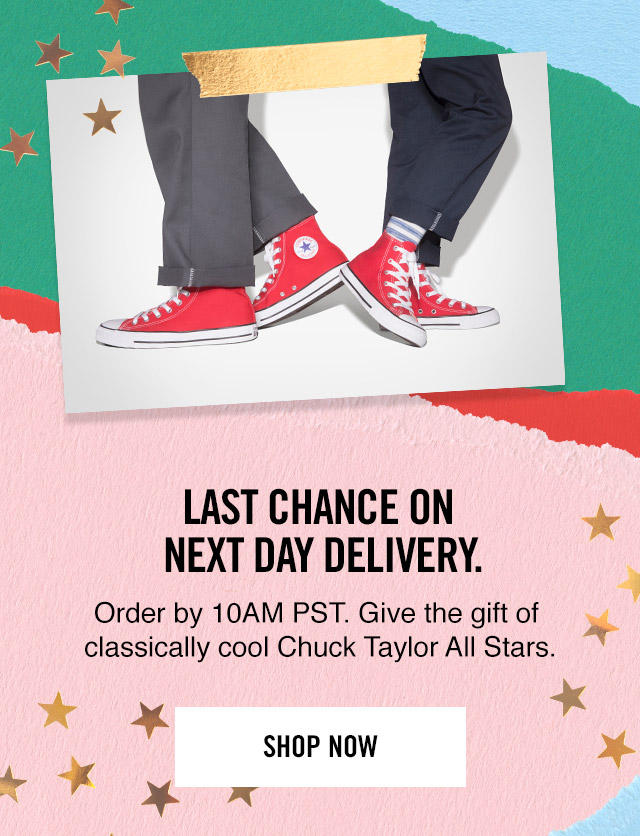 Shop Now: Chuck Taylor All Stars - Next Day Delivery