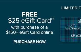 FREE EGIFT CARD WITH PURCHASE OF A $150+ EGIFT CARD ONLINE | PURCHASE NOW