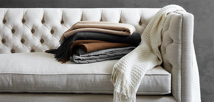 Up to 80% Off Cashmere Throws & More