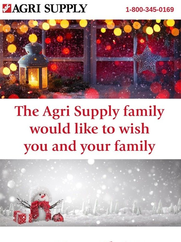 agrisupply com: Merry Christmas from Agri Supply | Milled
