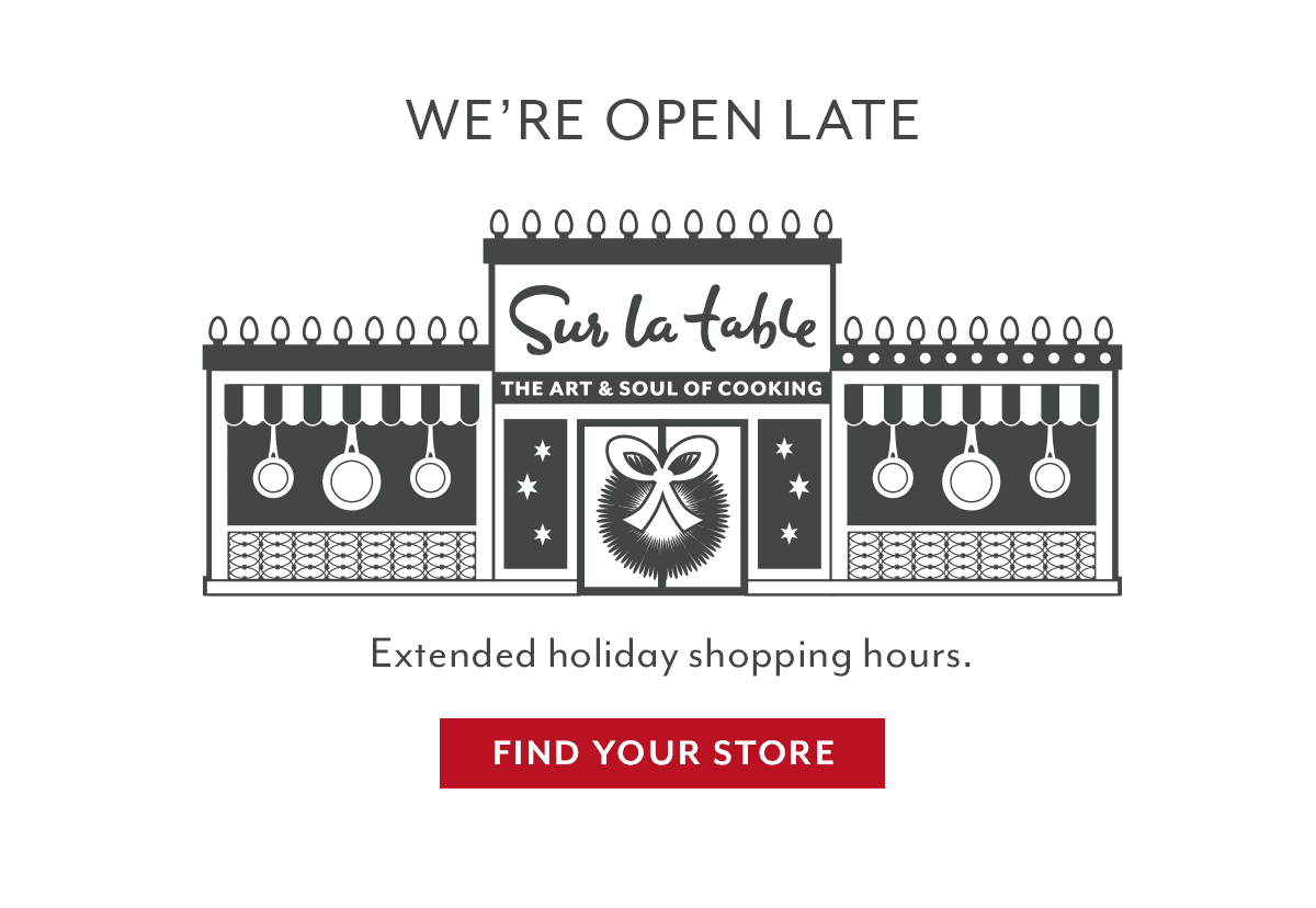 We're Open Late