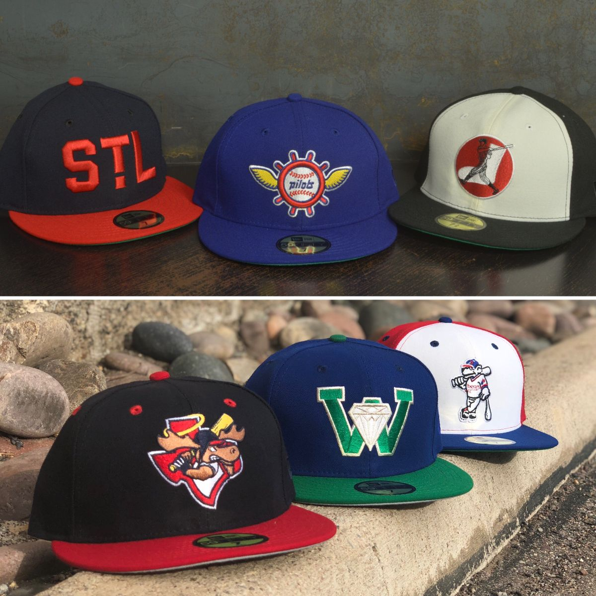 18daec2ba0057d The newest Hat Club Exclusive Collection drops today at 11am PST. Today we  are featuring three teams from the MiLB and three teams from the MLB.