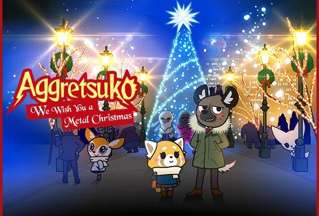 Aggretsuko Christmas.Hello Kitty Aggretsuko S New Christmas Special Is Now On