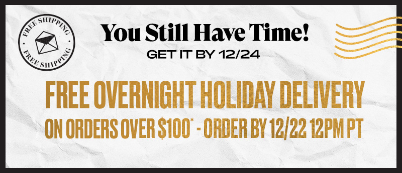 You Still Have Time! Free Delivery Offer