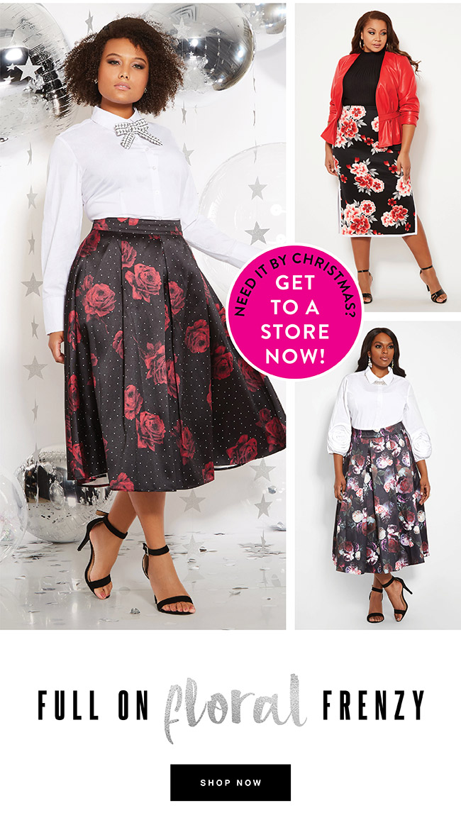 Full on floral frenzy - Shop Now