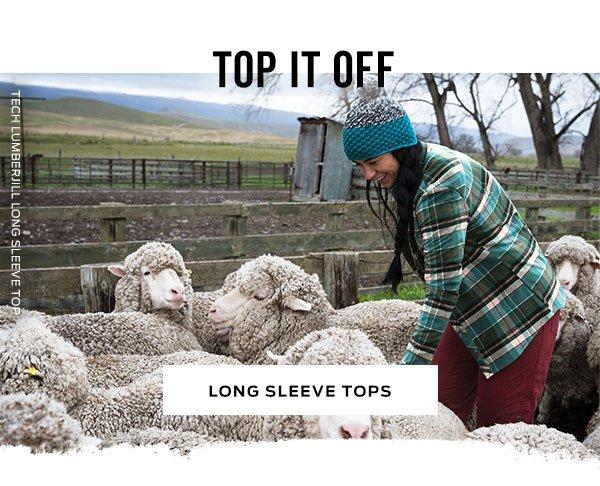 Shop Long Sleeve Tops >