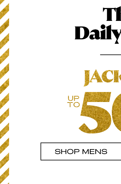 Jackets Up To 50% Off** - Shop Mens