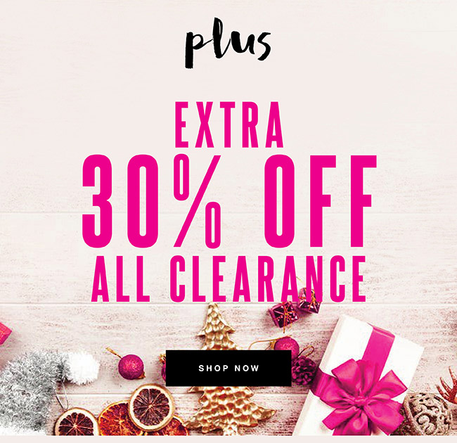 Extra 30% off All Clearance - Shop Now