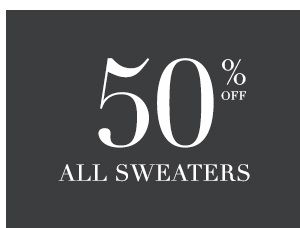 SHOP 50% OFF ALL SWEATERS