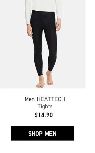 MEN HEATTECH TIGHTS $14.90 - SHOP MEN