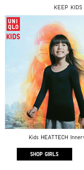 KIDS HEATTECH INNERWEAR STARTING AT $9.90 - SHOP GIRLS