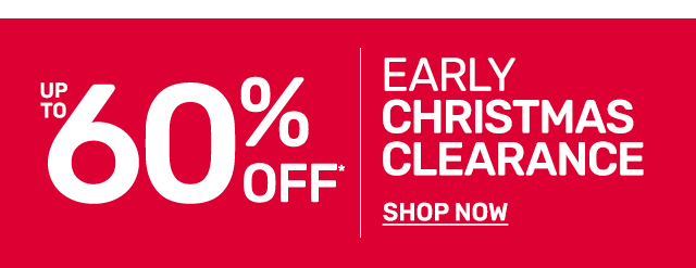 Shop up to sixty percent off Christmas clearance.