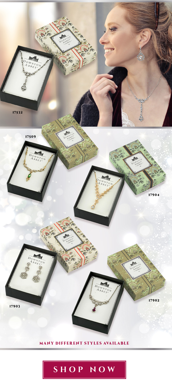 1928 Jewelry Downton Abbey Gifts