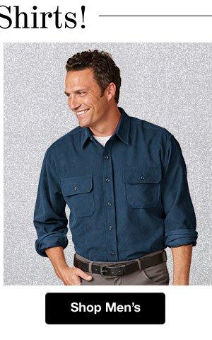 Shop Men's Shirts!