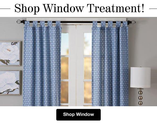 Shop Window Treatment!