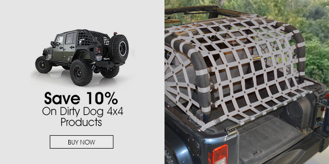 10% Off on Dirty Dog 4x4