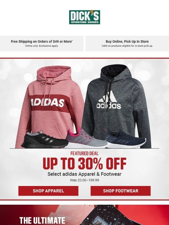 check out 3aee6 9e989 Up to 30% Off Select adidas!!!