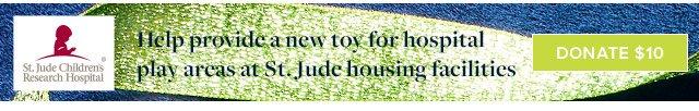 ST. JUDE | DONATE $10