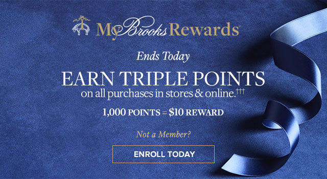 EARN TRIPLE POINTS | ENROLL TODAY