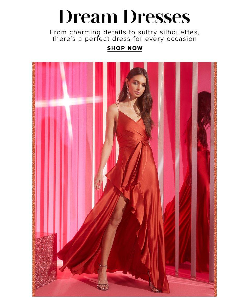 Dream Dresses. Shop Now