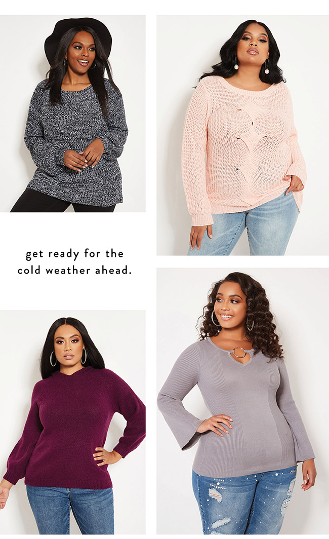 getting you ready for the cold weather ahead - Shop Now
