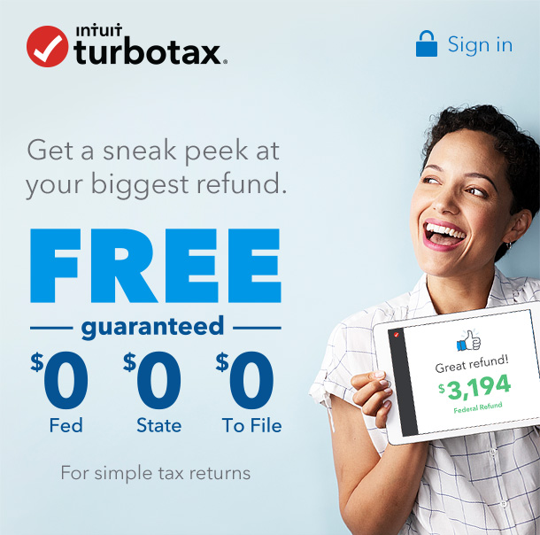 TurboTax: (Confirmed) You Should See How Big Your Refund