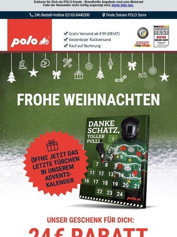 Frohe Weihnachten Motorrad.Polo Motorrad De 24 Euro Sparen Frohe Weihnachten