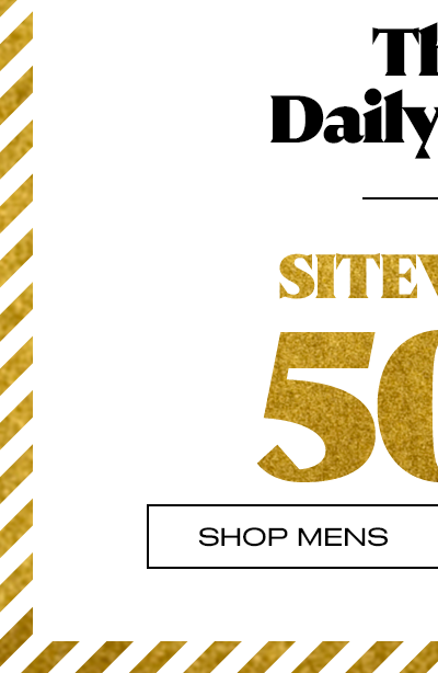 Sitewide 50% Off** - Shop Mens